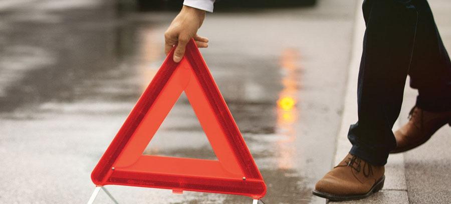фото аварийного треугольника