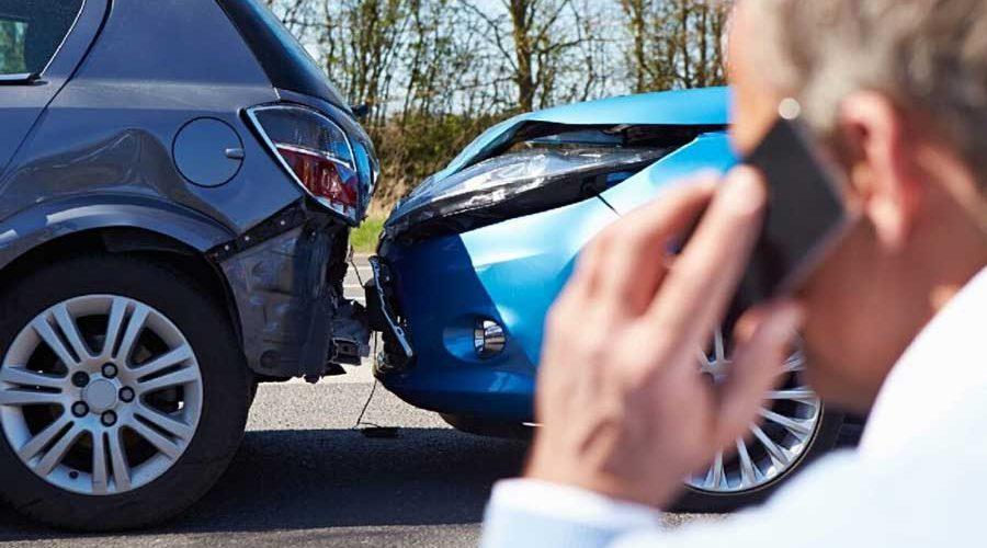 фото виновника ДТП уведомляющего страховую об аварии