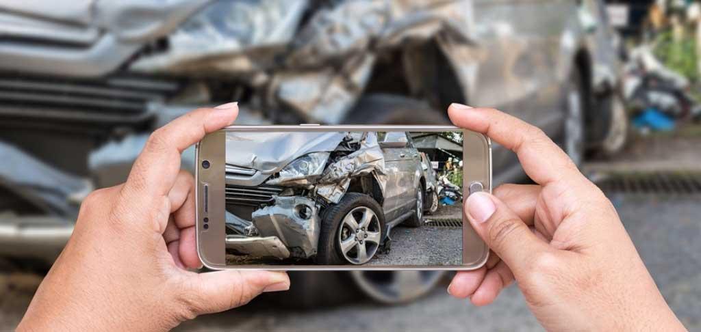 фотосъемка аварии