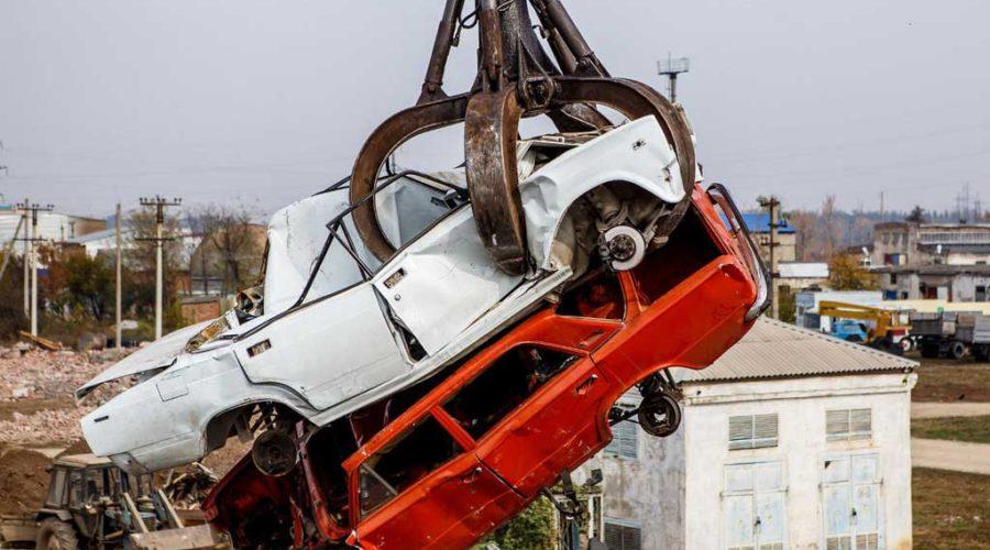 фото поврежденного в дтп автомобиля