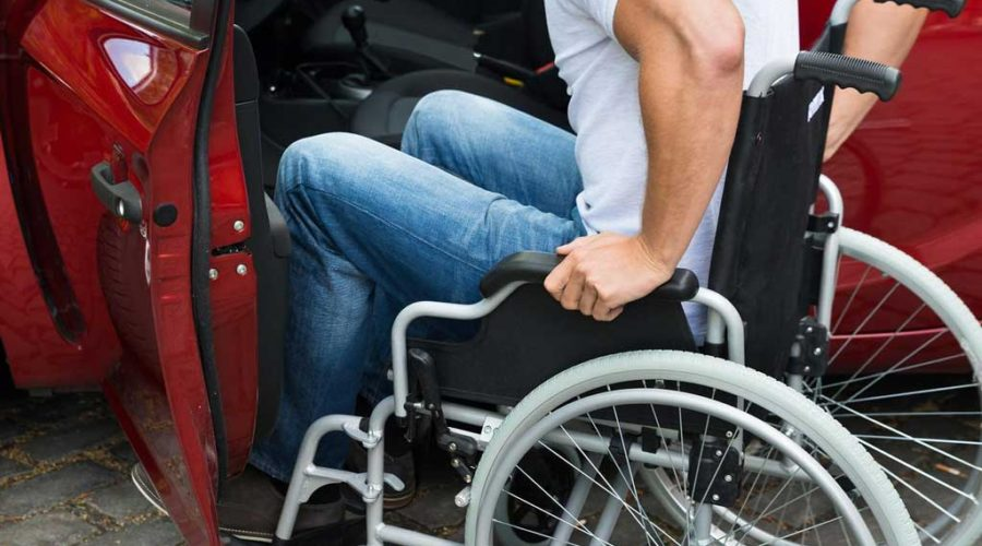 фото инвалида с ОСАГО
