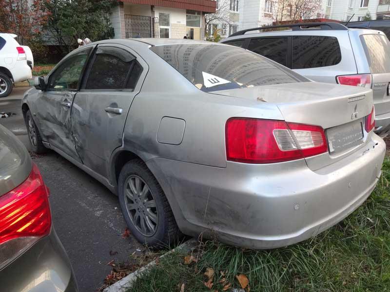 фото повреждений автомобиля