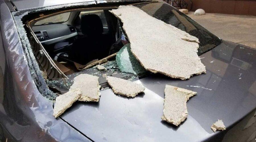 Поврежденный по вине жку автомобиль