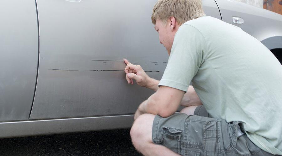 фото водителя повредившего машину