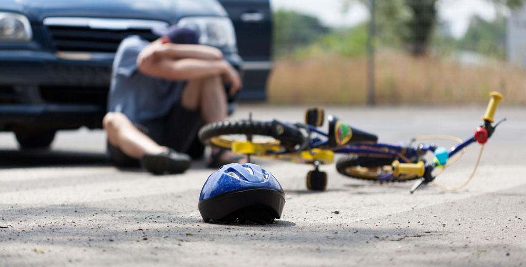 фото пострадавшего в ДТП велосипеда