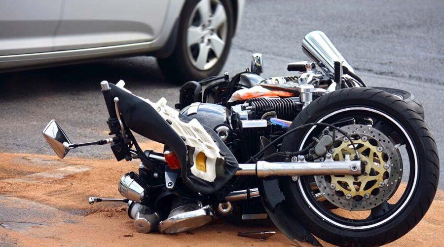 фото мотоцикла после ДТП