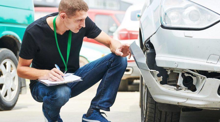 фото осмотра автомобиля страховой компанией