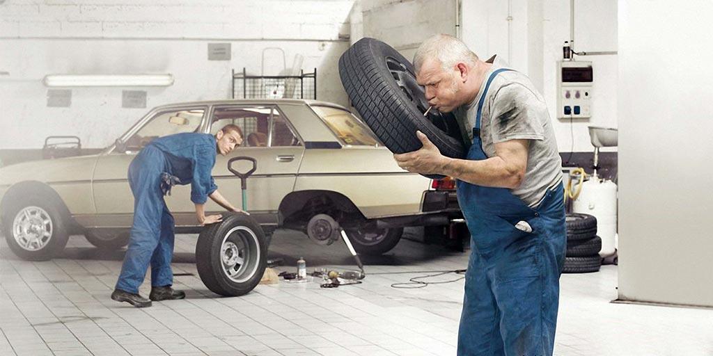 фото некачественного ремонта и повреждений автомобиля в сервисе